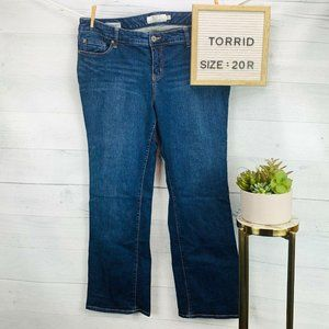 Torrid Relaxed Boot Jean Vintage Stretch sz 20R